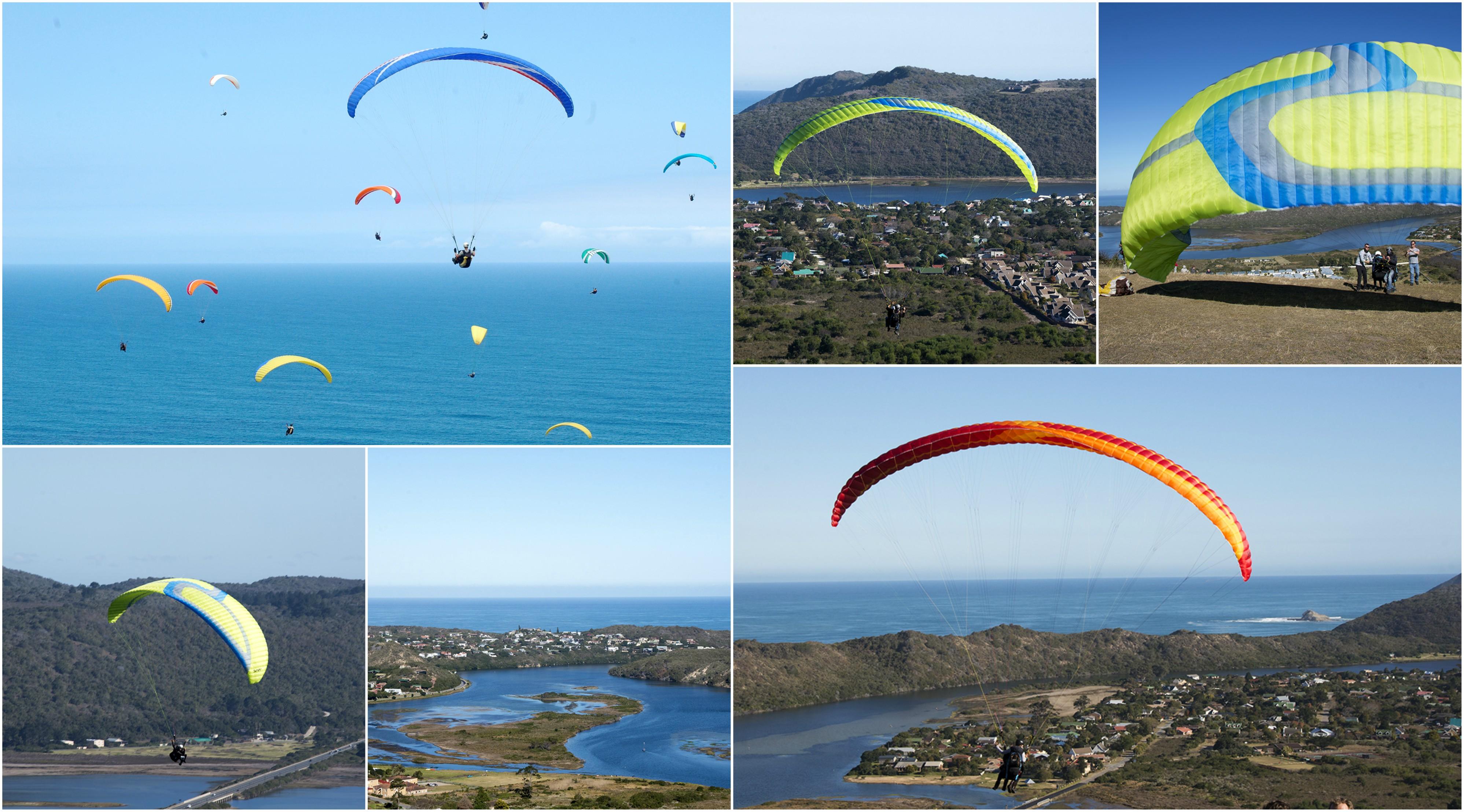 Paragliding, Knysna