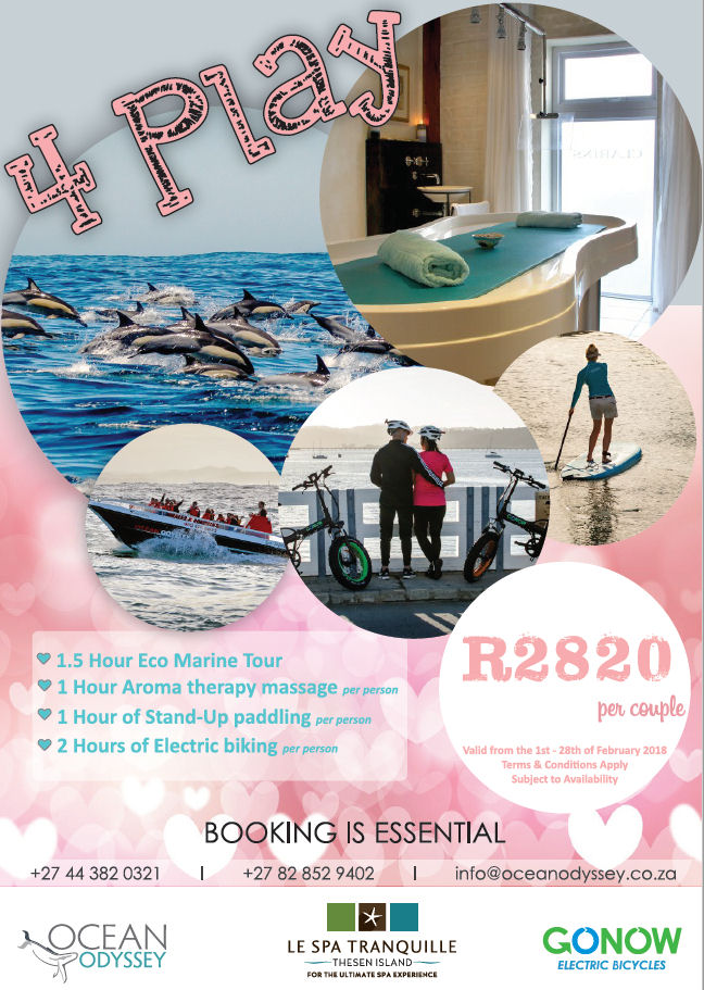 Valentines Day Package in Knysna